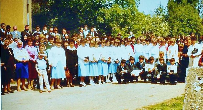 Igrici, konfirmáció 1980
