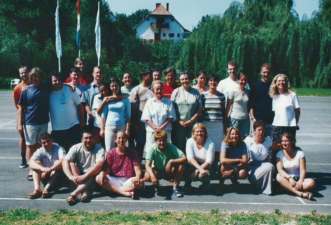 Szárszó, bibliakör vezetők, 2003